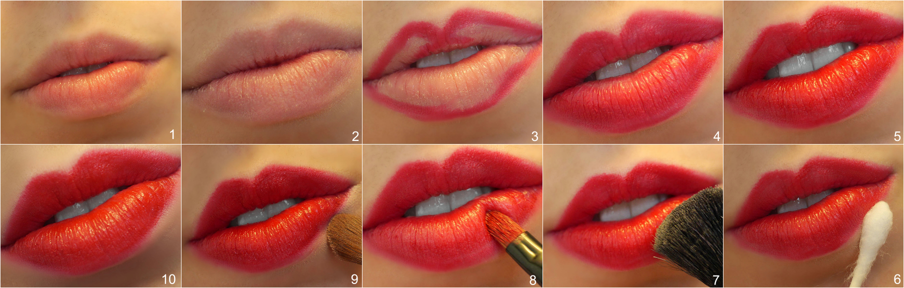 How to: Long-Lasting Red lips with Arbonne Lip Products!