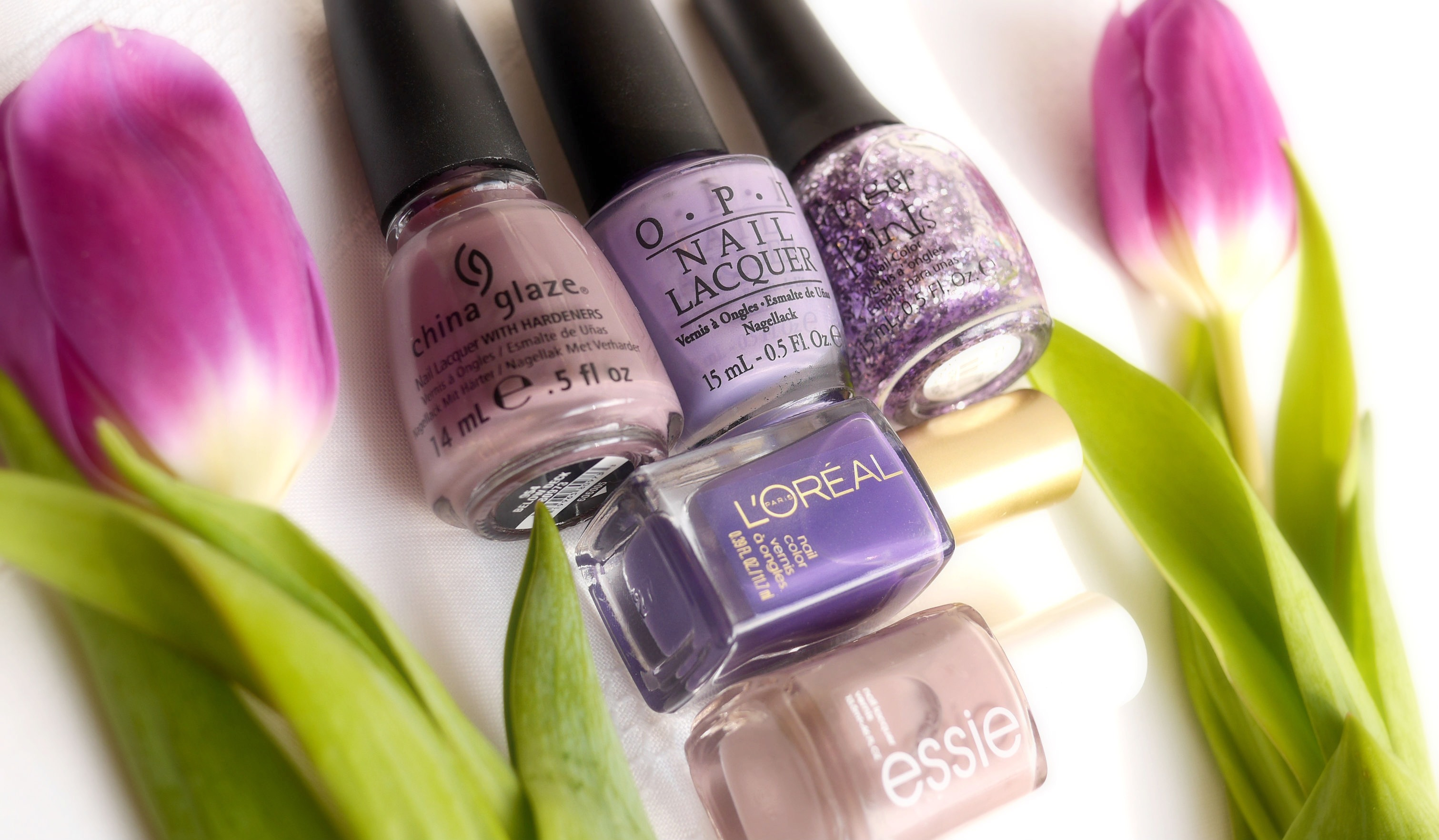 Purple Polishes for Spring