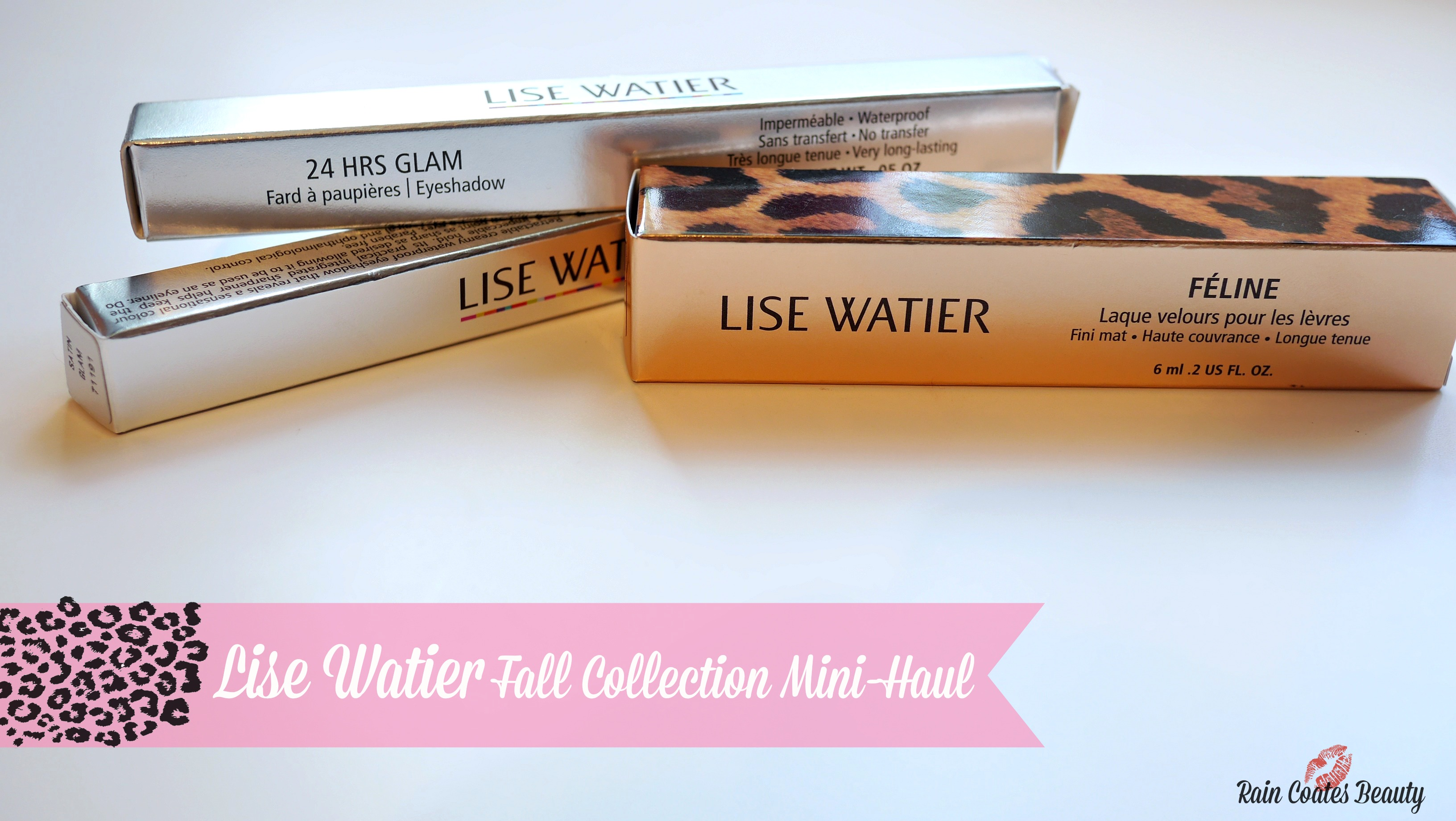 Lise Watier: Fall Collection Mini Haul & Reviews