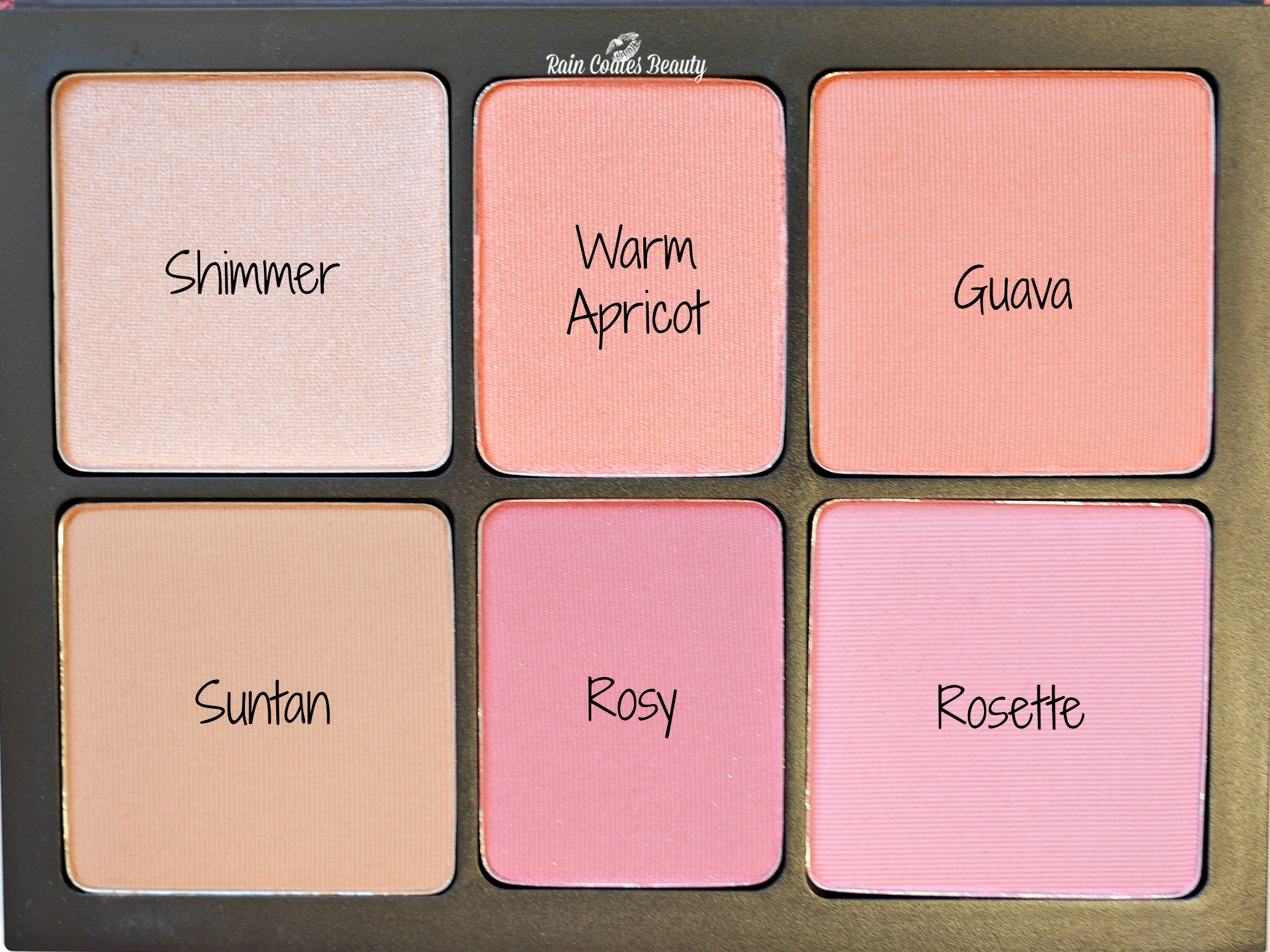 Smashbox Crush on Blush With Names