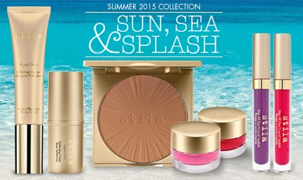 "Stila ""Sun, Sea & Splash"" Summer 2015 Collection"