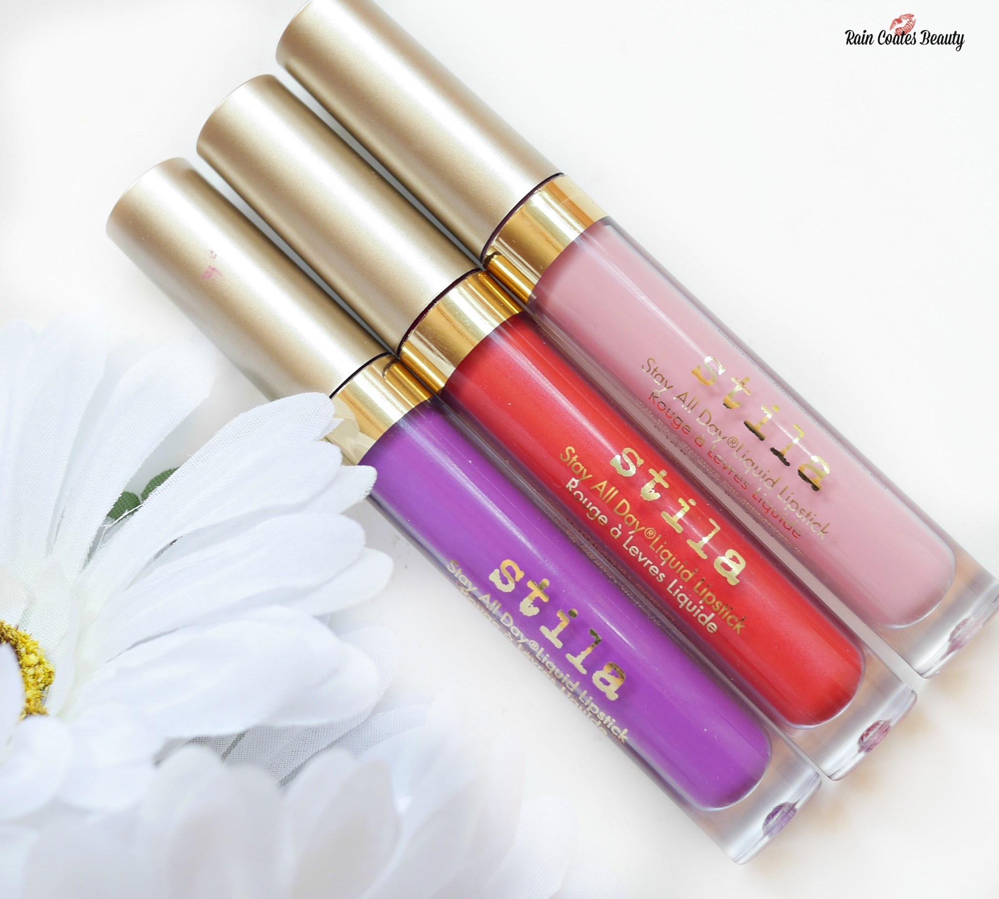 Stila Stay All Day Liquid Lipsticks – Sun, Sea, Splash Collection (Review & Swatches)