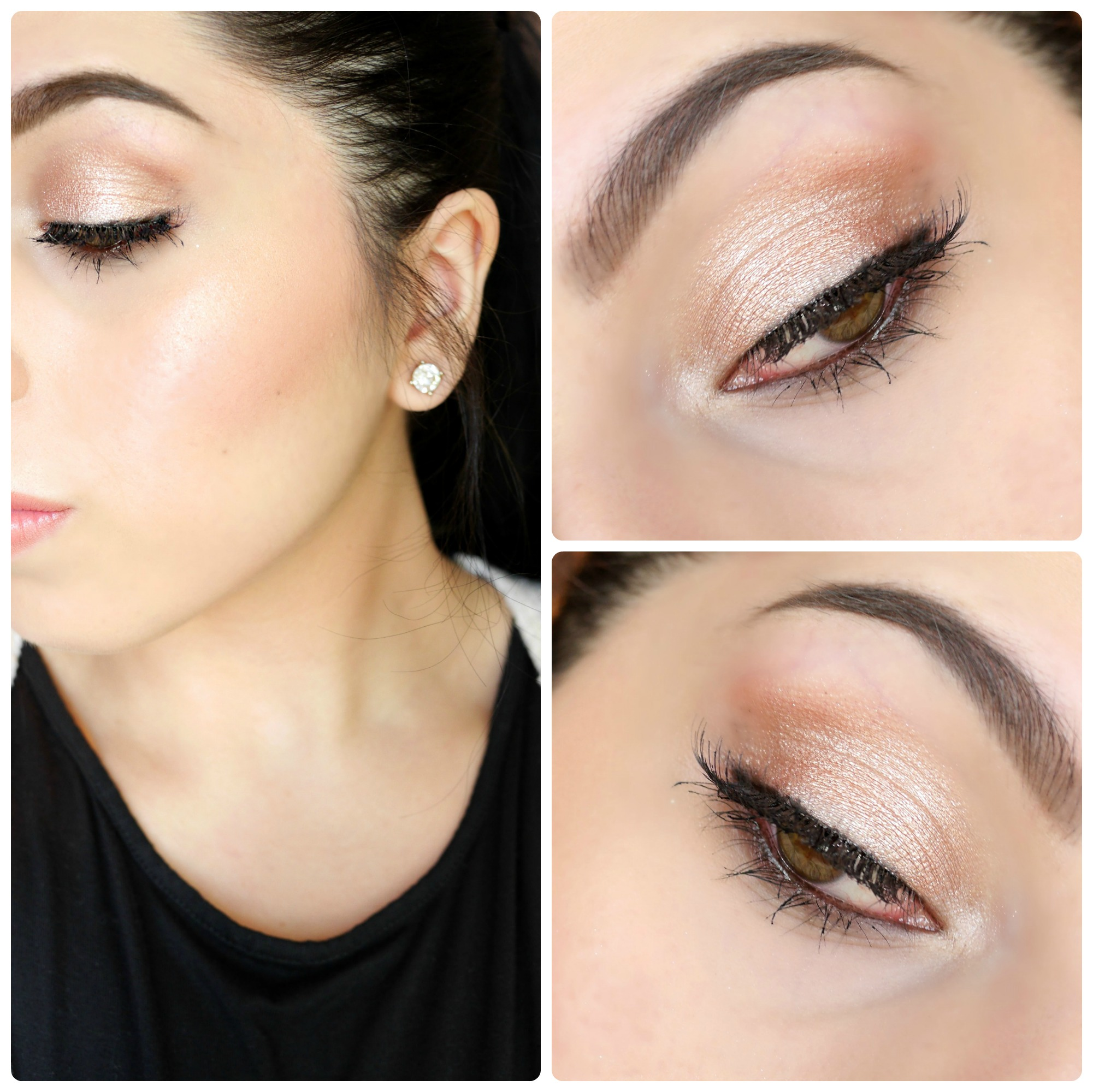 Warm Shimmer – Makeup of the Day