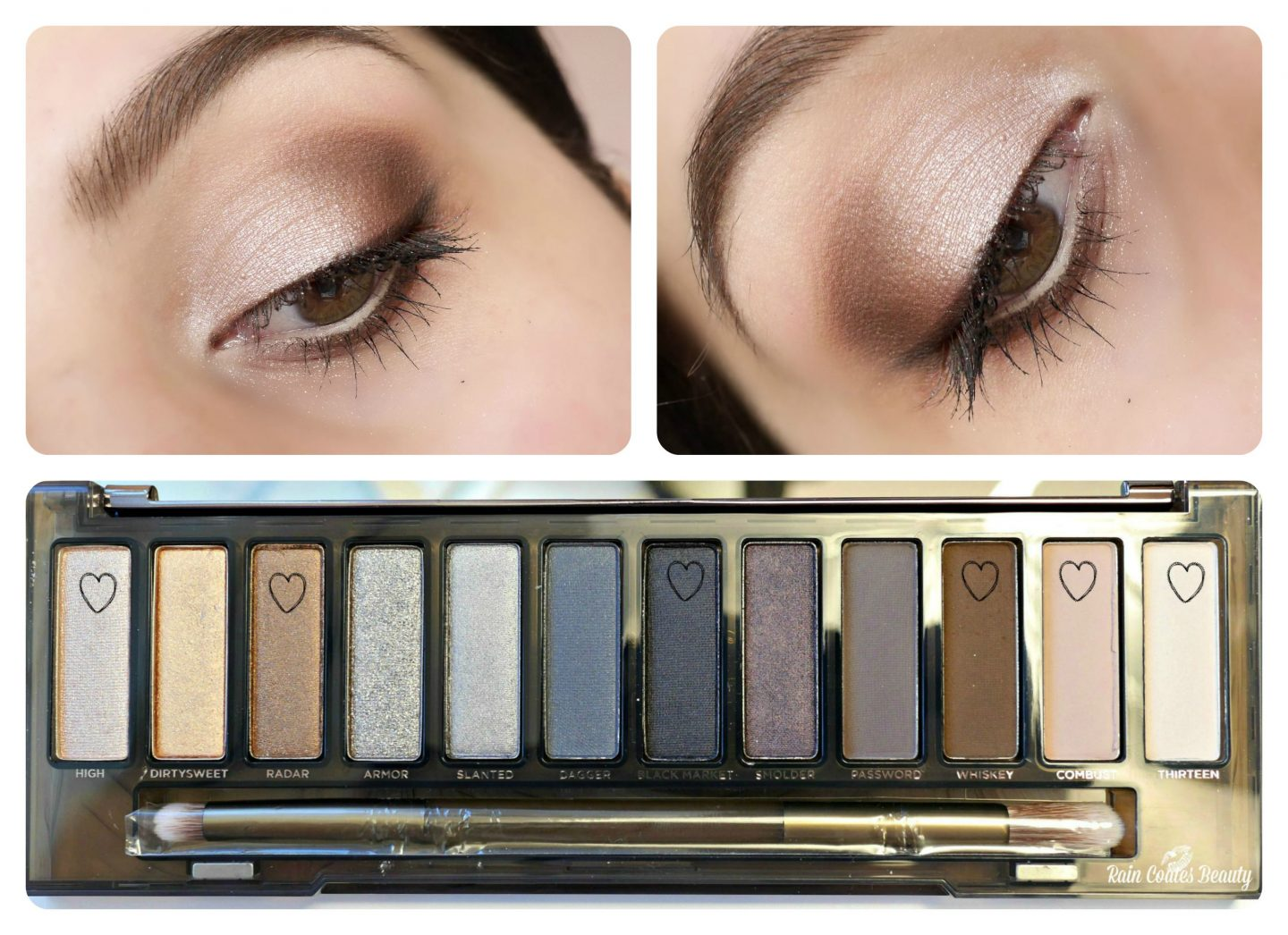 Urban Decay Naked Smoky Palette – Easy Neutral Look
