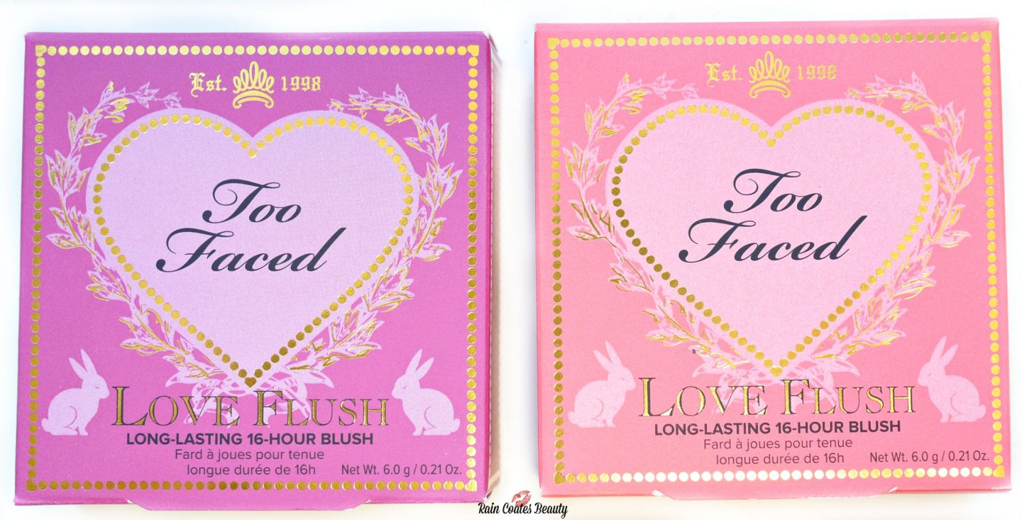 Too Faced Love Flush Long Lasting Blushes – Review