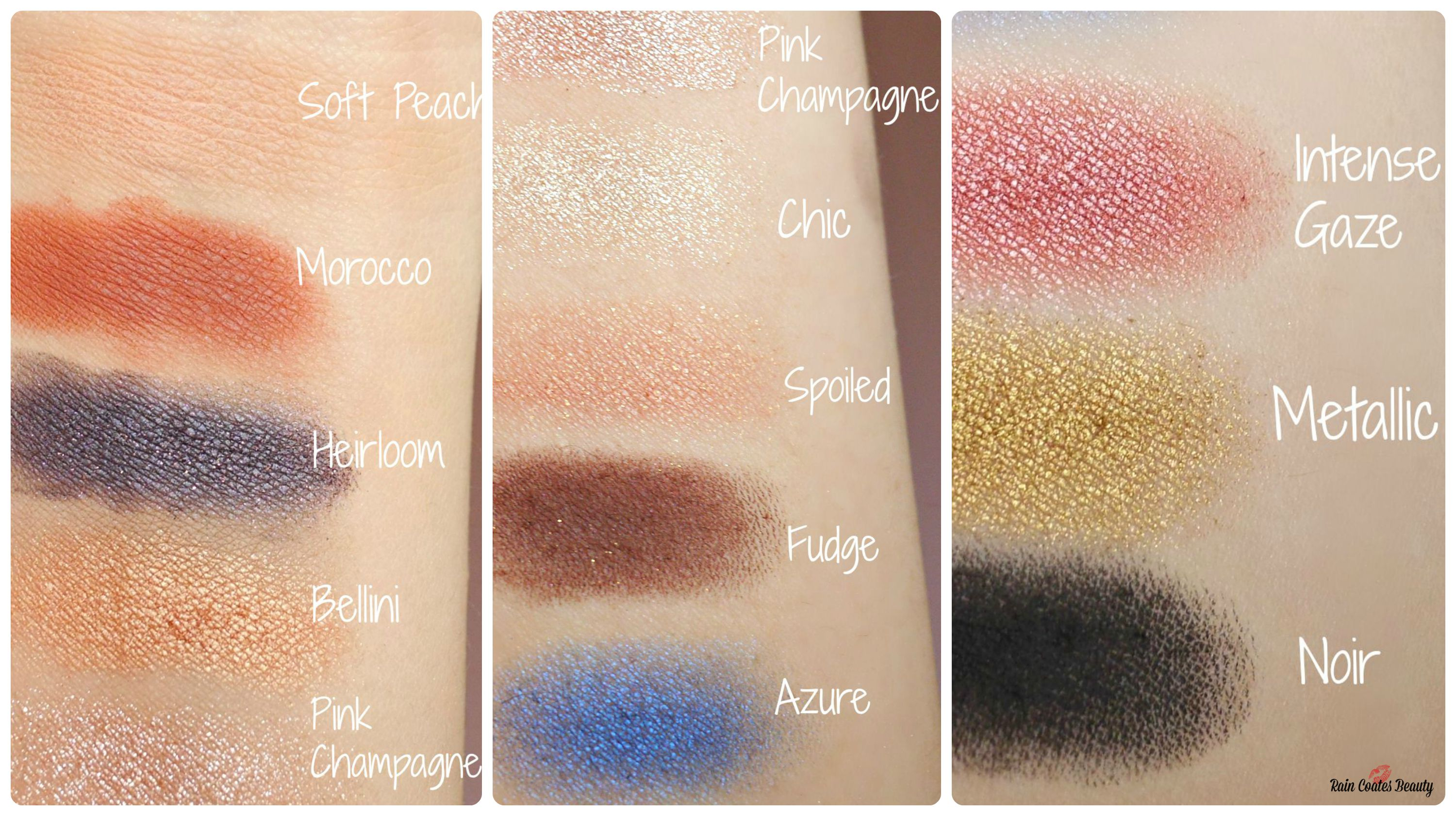 anastasia couture palette swatches