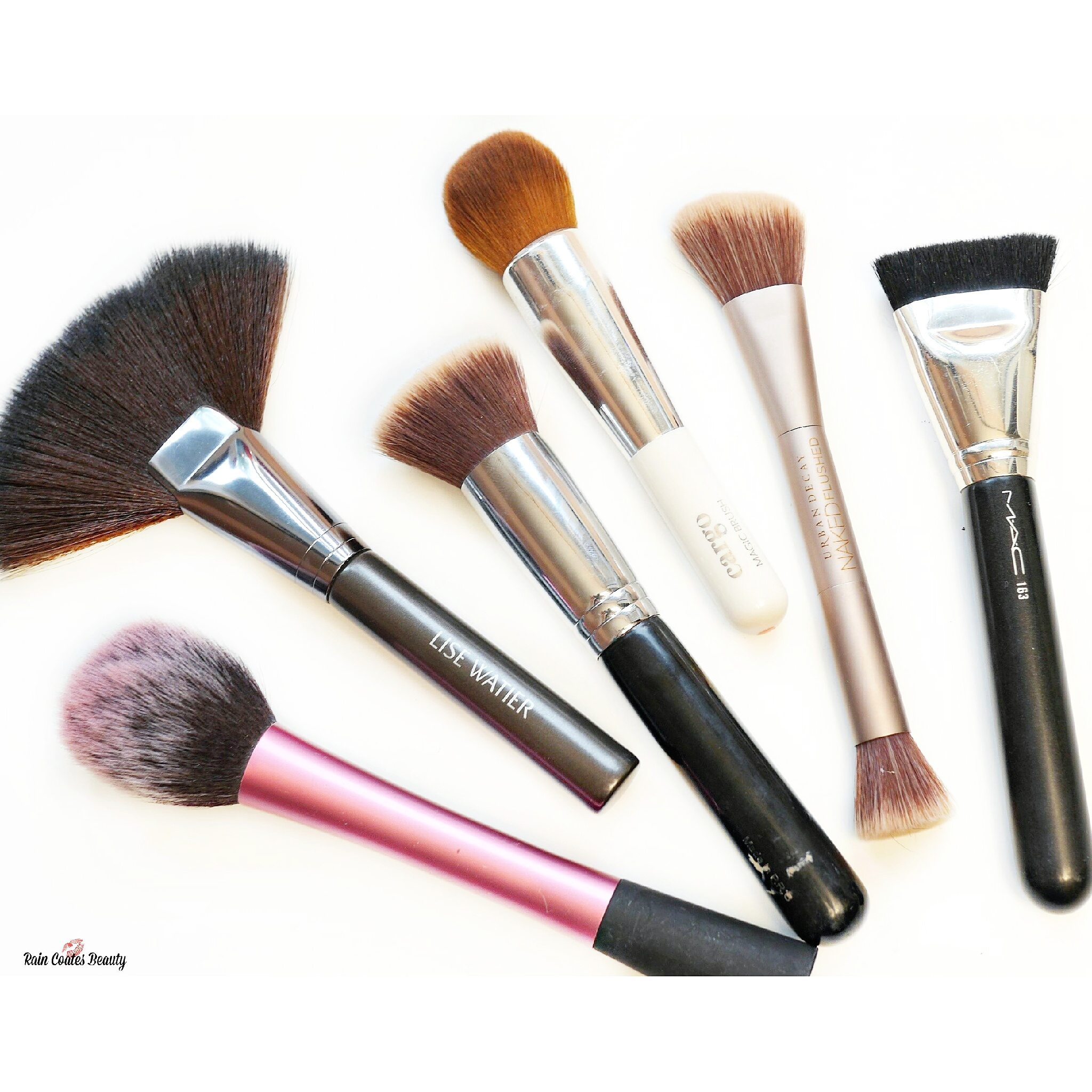 My Current Favourite Face Brushes