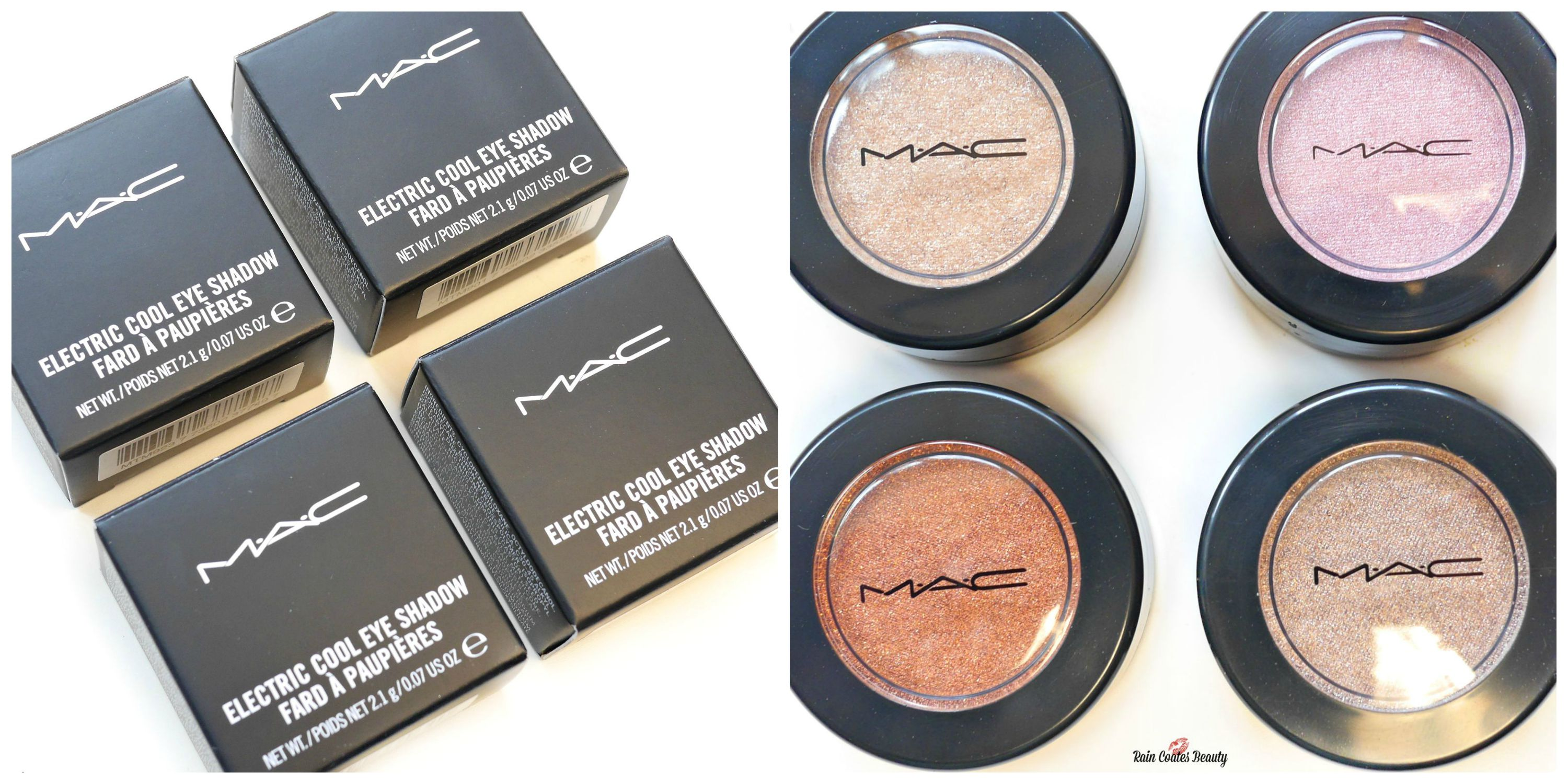 mac electric cool eyeshadow collection