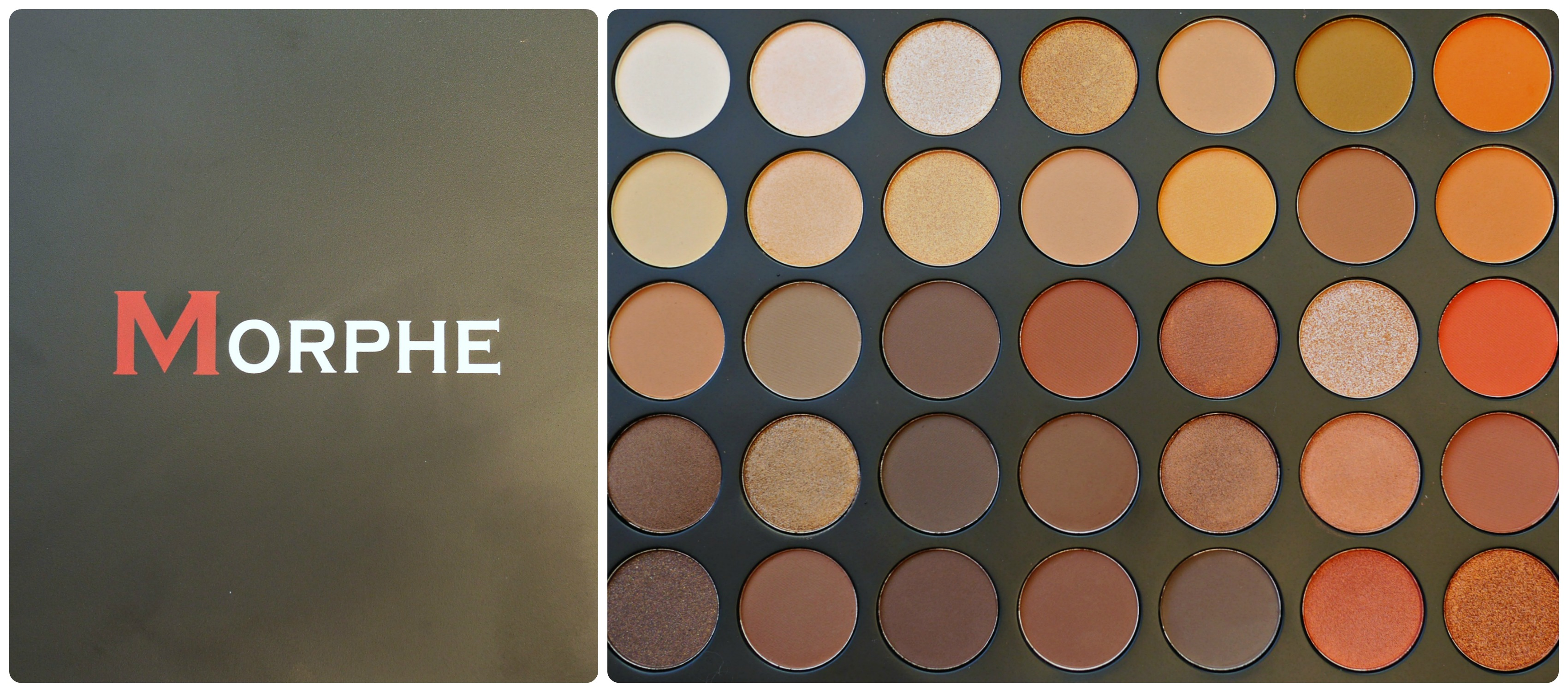 Morphe 35O Pallette- Review