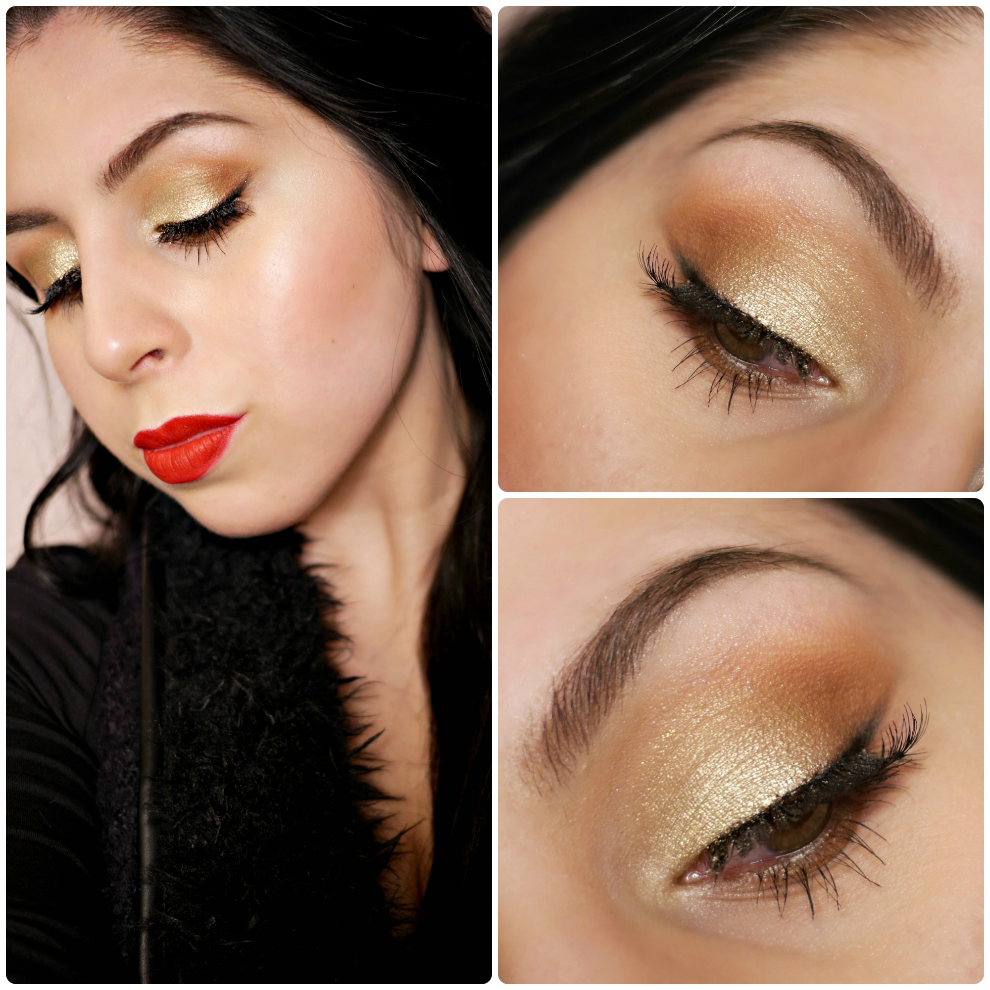 Drugstore Holiday Makeup – MOTD (Blogmas Day 14)