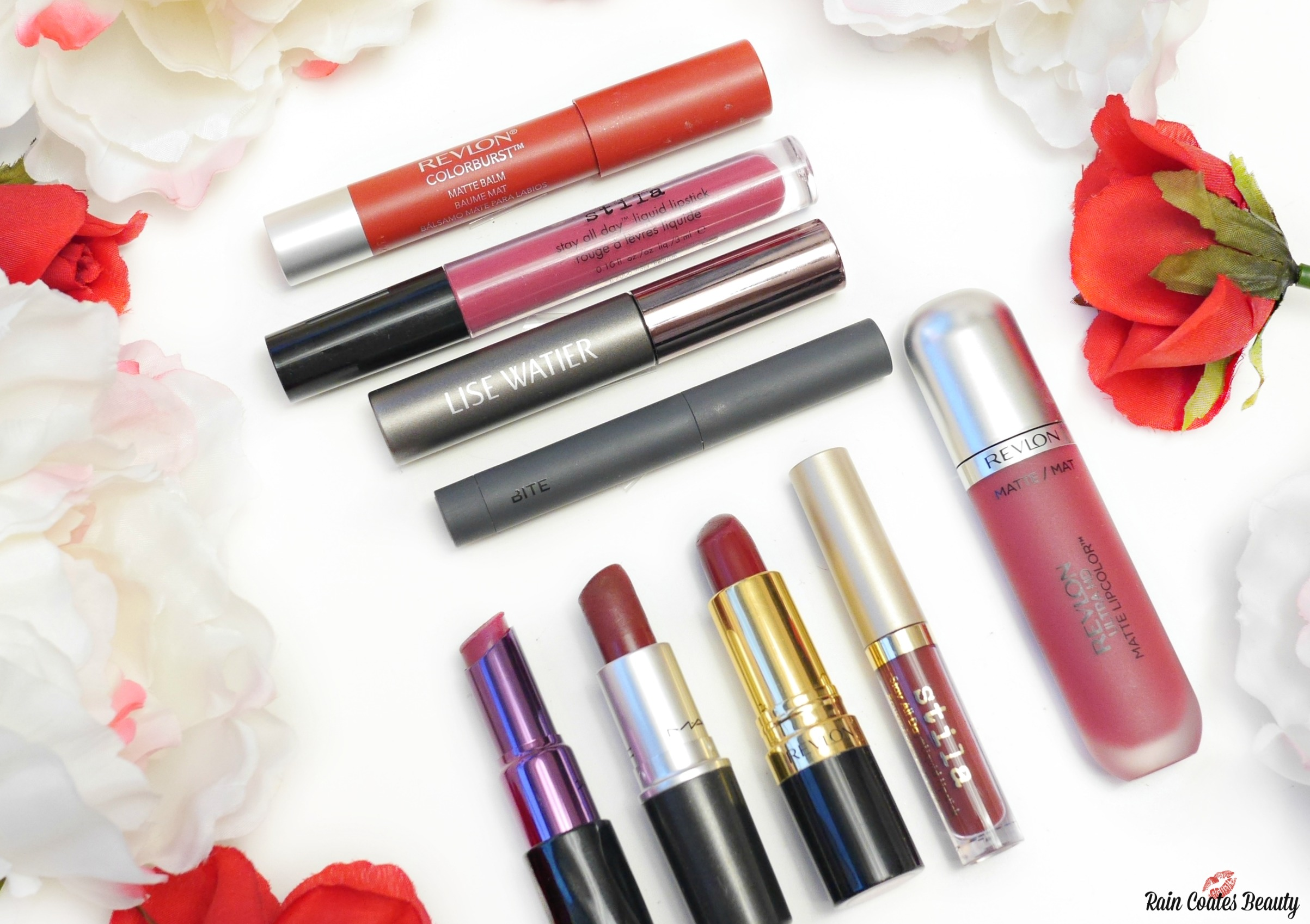 Favourite Holiday Lip Colours (Blogmas Day 12)