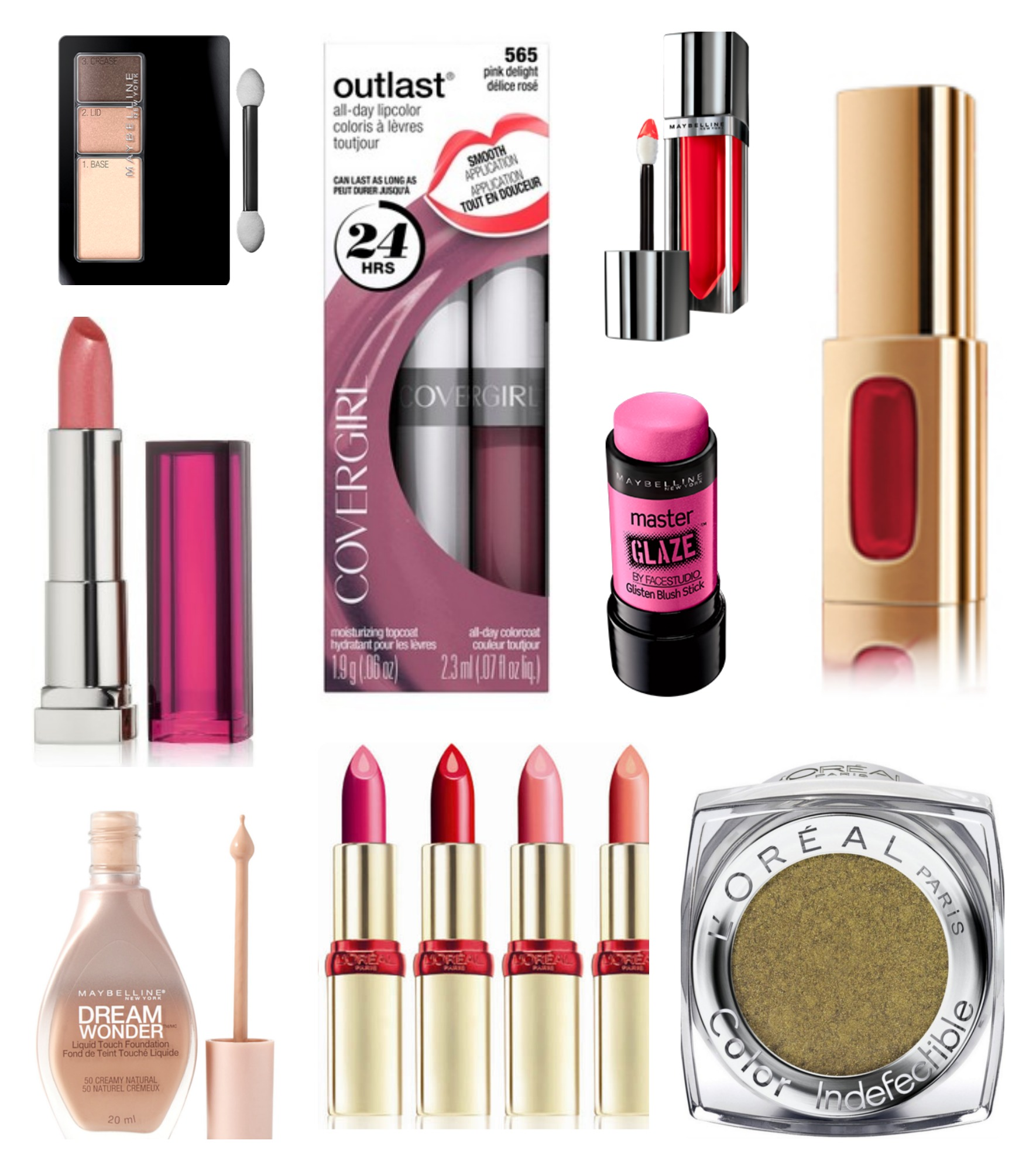 disc. drugstore products collage