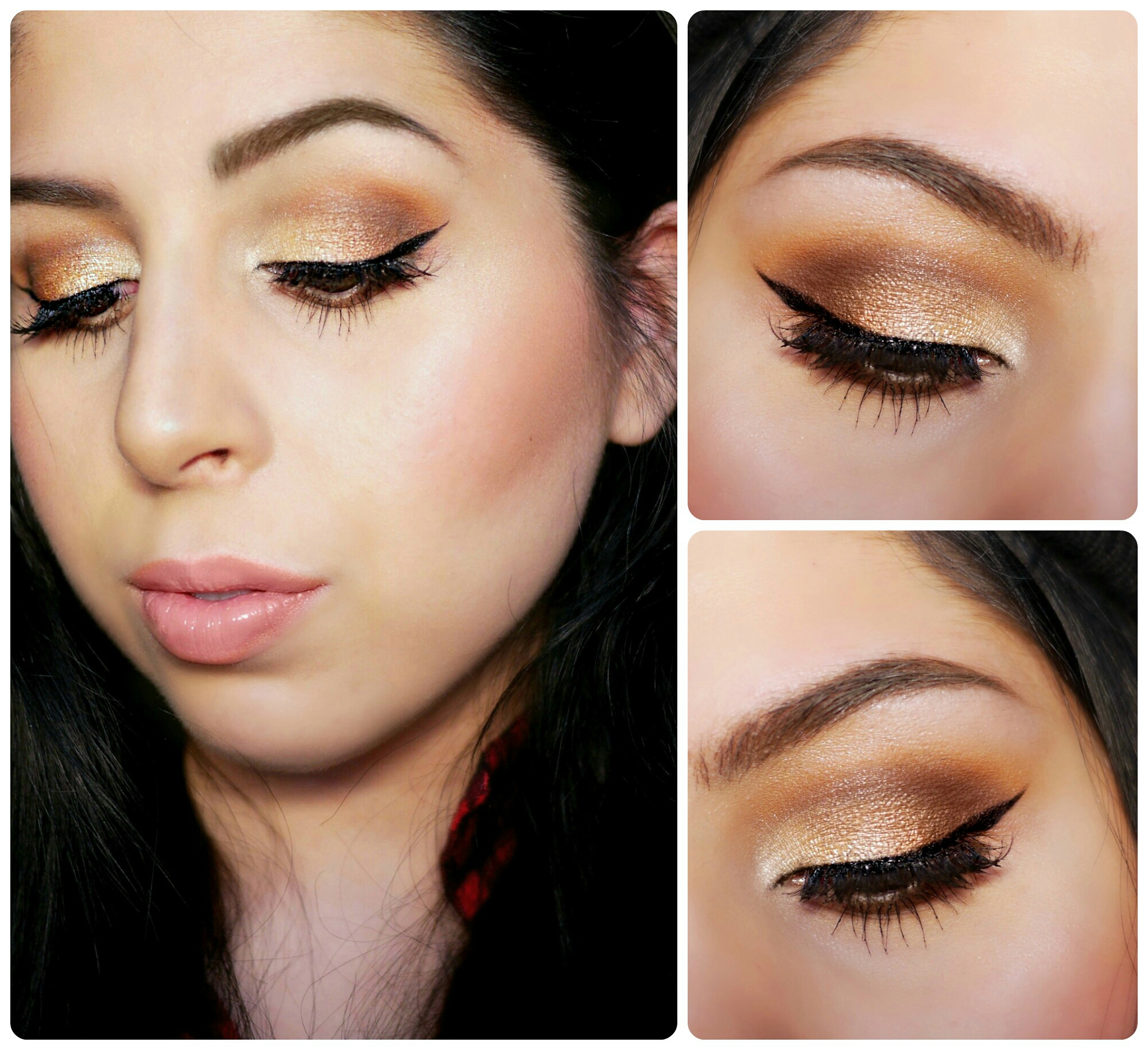 Gold Glam – A Very Morphe Valentines Day