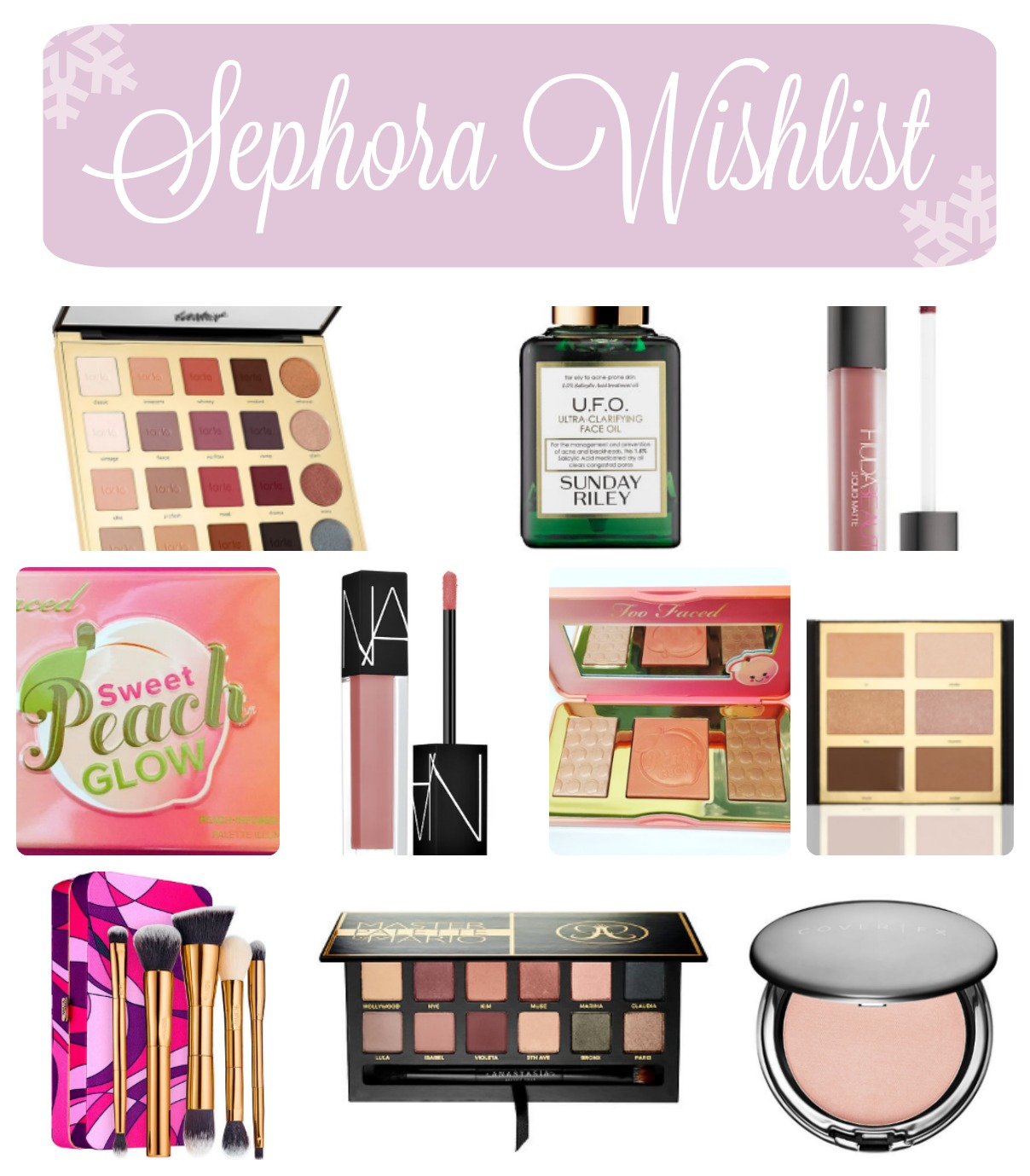 Holiday Beauty Wishlist (Blogmas 2016 Day 3)