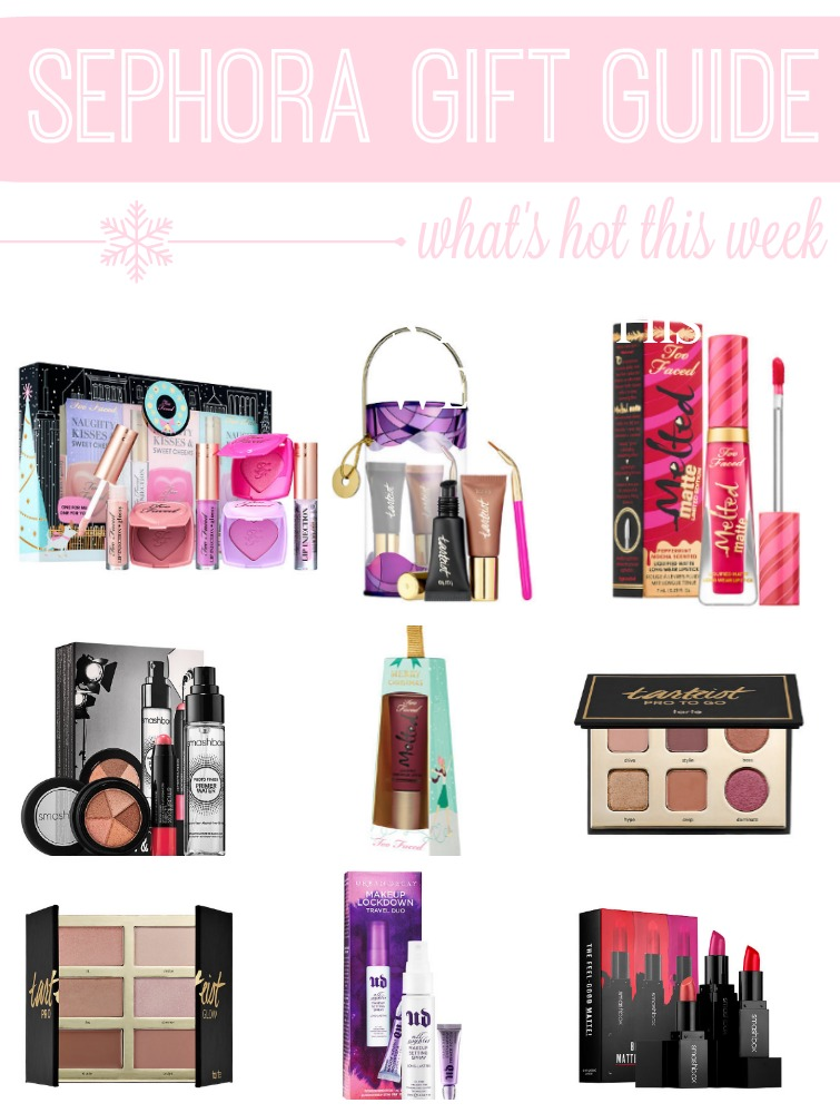Sephora Gift Guide – What's Hot This Week (Blogmas 2016 Day 17)