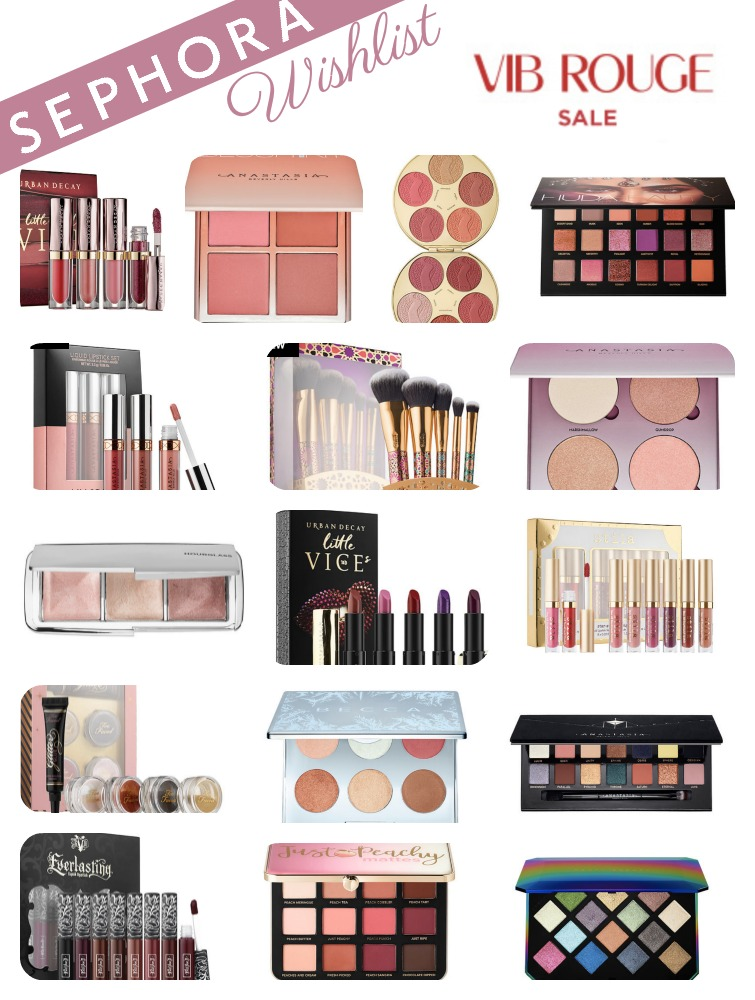 Sephora 2017 VIB Rouge Sale – Wishlist