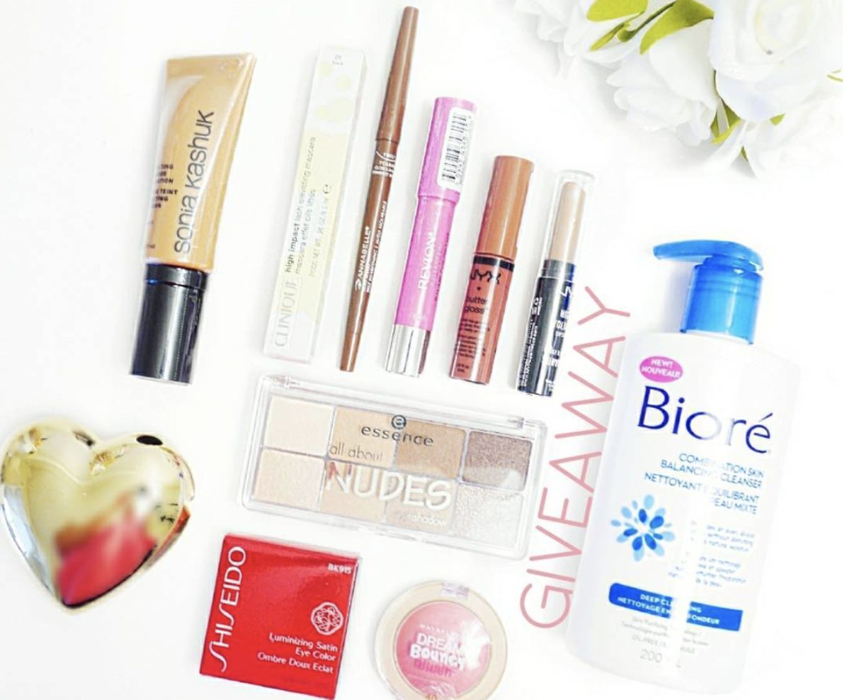 Giveaway #4 – Makeup Galore!