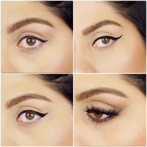 HOW TO DO EYELINER – 1 Liner in 4 Styles, Tips & Tricks