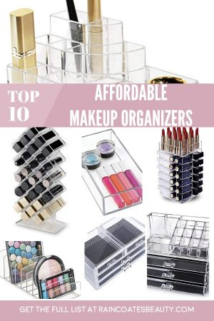 The Best Affordable Makeup Organizers