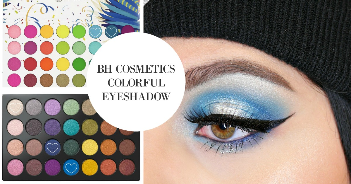 BH Cosmetics Blue Eyeshadow colorful makeup